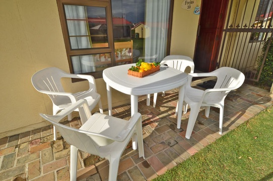 Outside Area of Cottage 30 - Seaside Cottages Fish Hoek