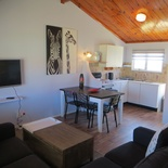 Lounge Area of cottage 42 - Seaside Cottages Fish Hoek