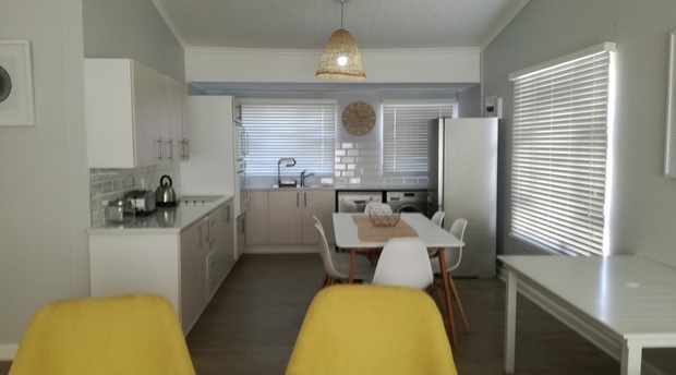 Kitchen Area of Cottage 65 - Seaside Cottages Fish Hoek