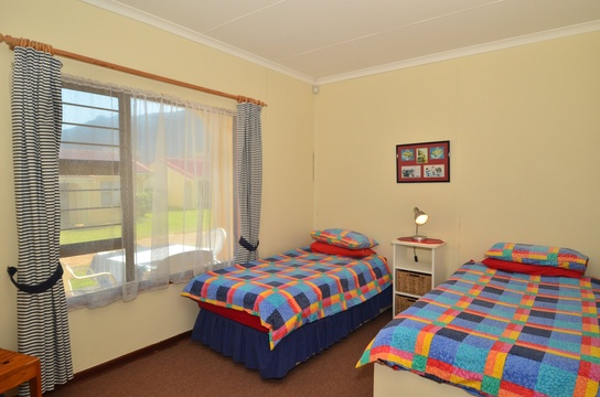 Second Bedroom of Cottage 72 - Seaside Cottages Fish Hoek