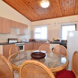 Dining area of Cottage 62 Seaside Cottages