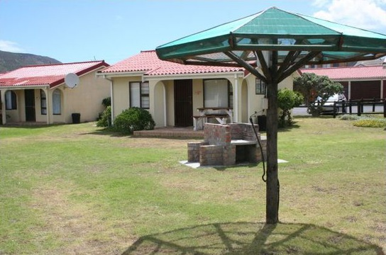 Front View of Cottage 19 - Seaside Cottages Fish Hoek