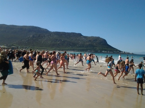 Spring Splash 2014 - Fish Hoek Beach