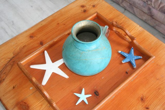 Beach decor at Cottage 19 - Seaside Cottages Fish Hoek