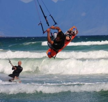 Kite Surfing - Fish Hoek Beach