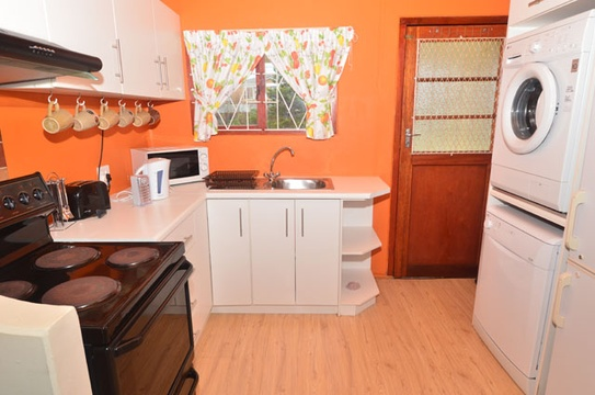 Kitchen area of Cottage 57, Seaside Cottages Fish Hoek
