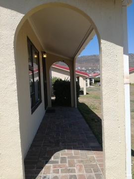 Outside view of Cottage 30 - Seaside Cottages Fish Hoek