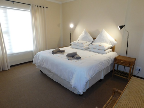 Main bedroom of cottage 66 - Seaside Cottages Fish Hoek