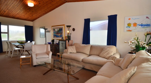 Lounge area of cottage 67- Seaside Cottages Fish Hoek