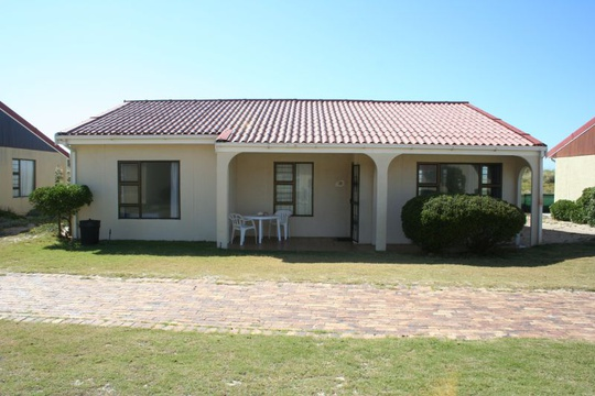 Outside view of Cottage 69 - Seaside Cottages Fish Hoek