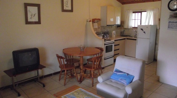 Lounge area of cottage 50 - Seaside Cottages Fish Hoek