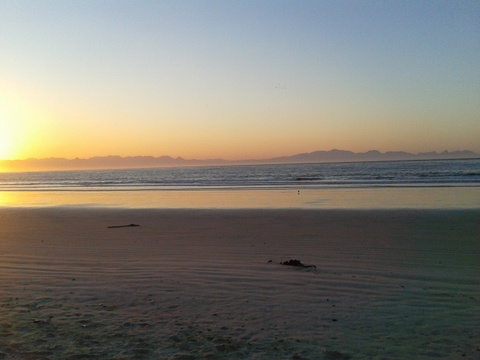 Fish Hoek Beach  - early morning